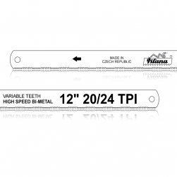 Bi-Metalový ruční pilový list na kov VARIABLE